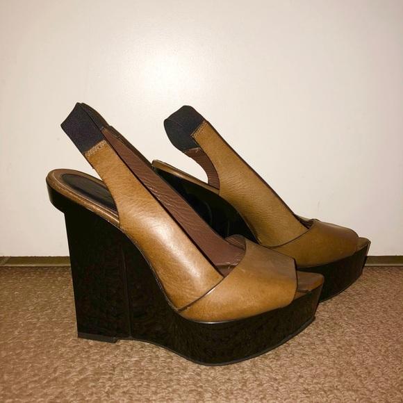 Designer Wedge Heels